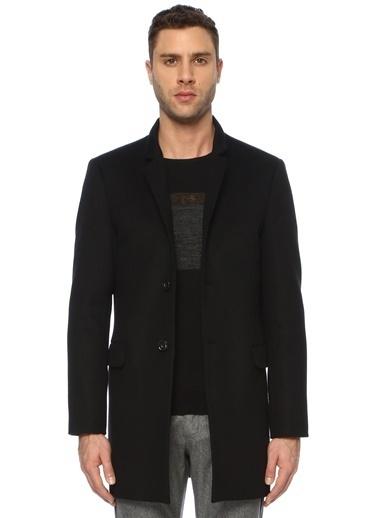 NetWork NetWork 1071465 Slim Fit Siyah Palto Erkek Palto Siyah